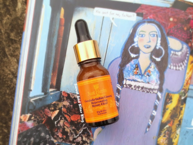 Just Herbs Rejuvenating Beauty ELIXIR Facial Serum with Gotukola Indian Ginseng Review