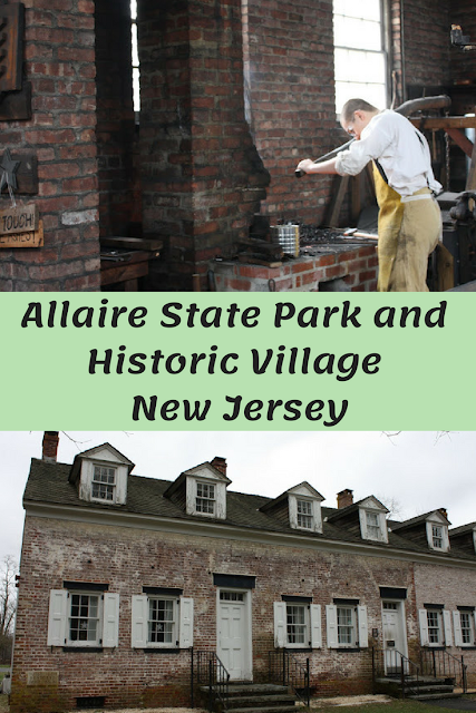 Allaire State Park and Historic Village in New Jersey