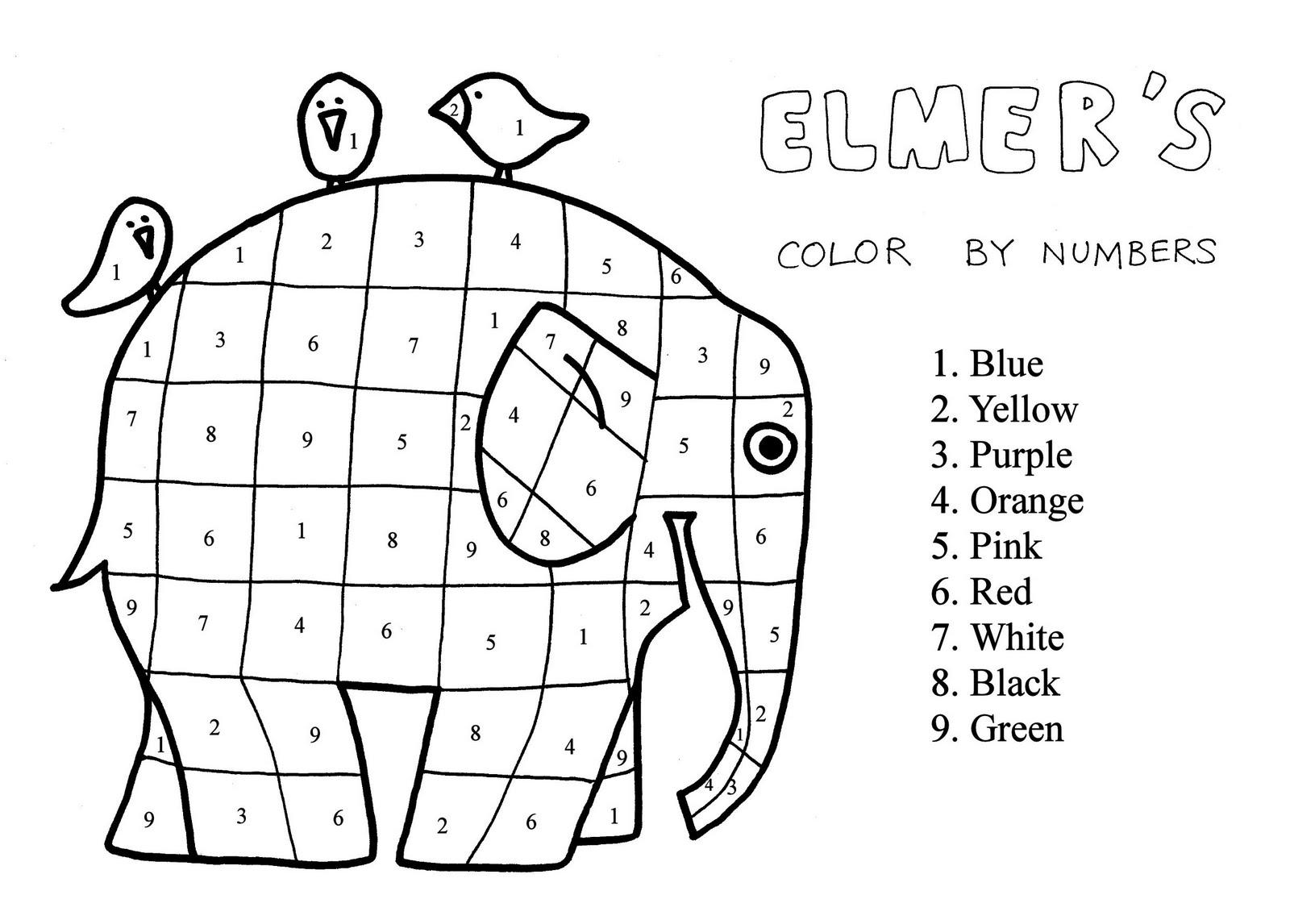 Aula de Elena: Cuéntame un cuento: Elmer