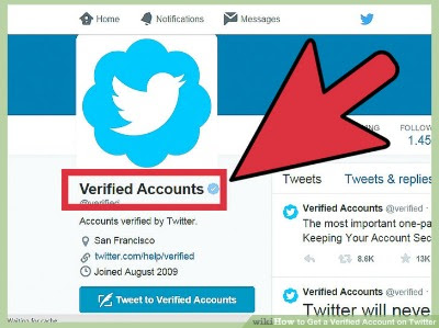 How to get twitter verified account with blue badge