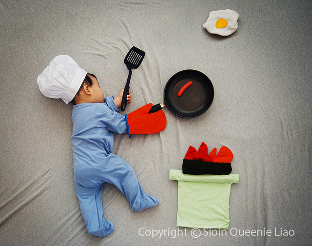 creative baby and toddler picture ideas