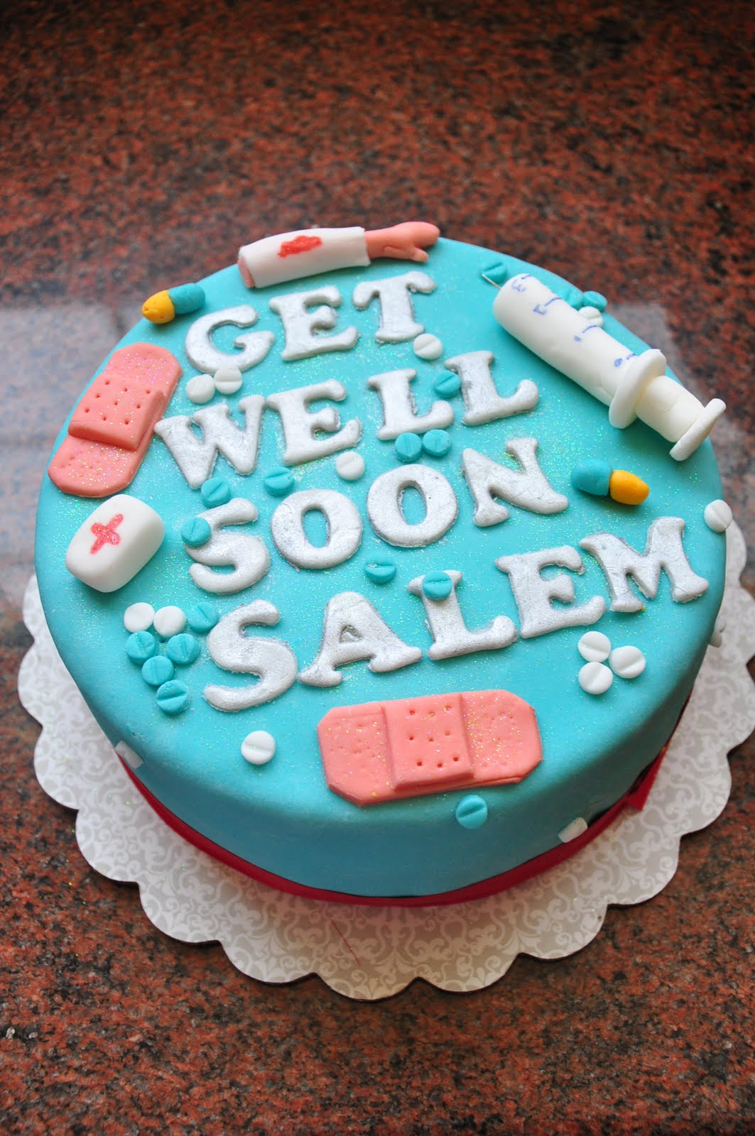 Reem S Cake Boutique Get Well Soon Cake
