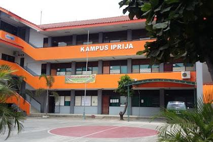 Pendaftaran Mahasiswa Baru (IPRIJA-Jakarta) 2021-2022