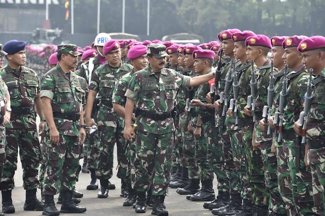 Prajurit Marinir Miliki Jiwa Ksatria, Militan, Loyal dan Profesional
