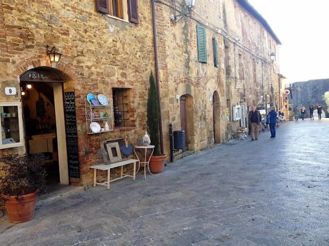 calles de Monteriggioni