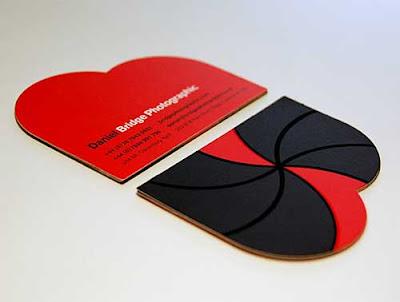 tarjetas personales minimalista