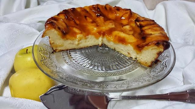 tarta de manzana cocina facil