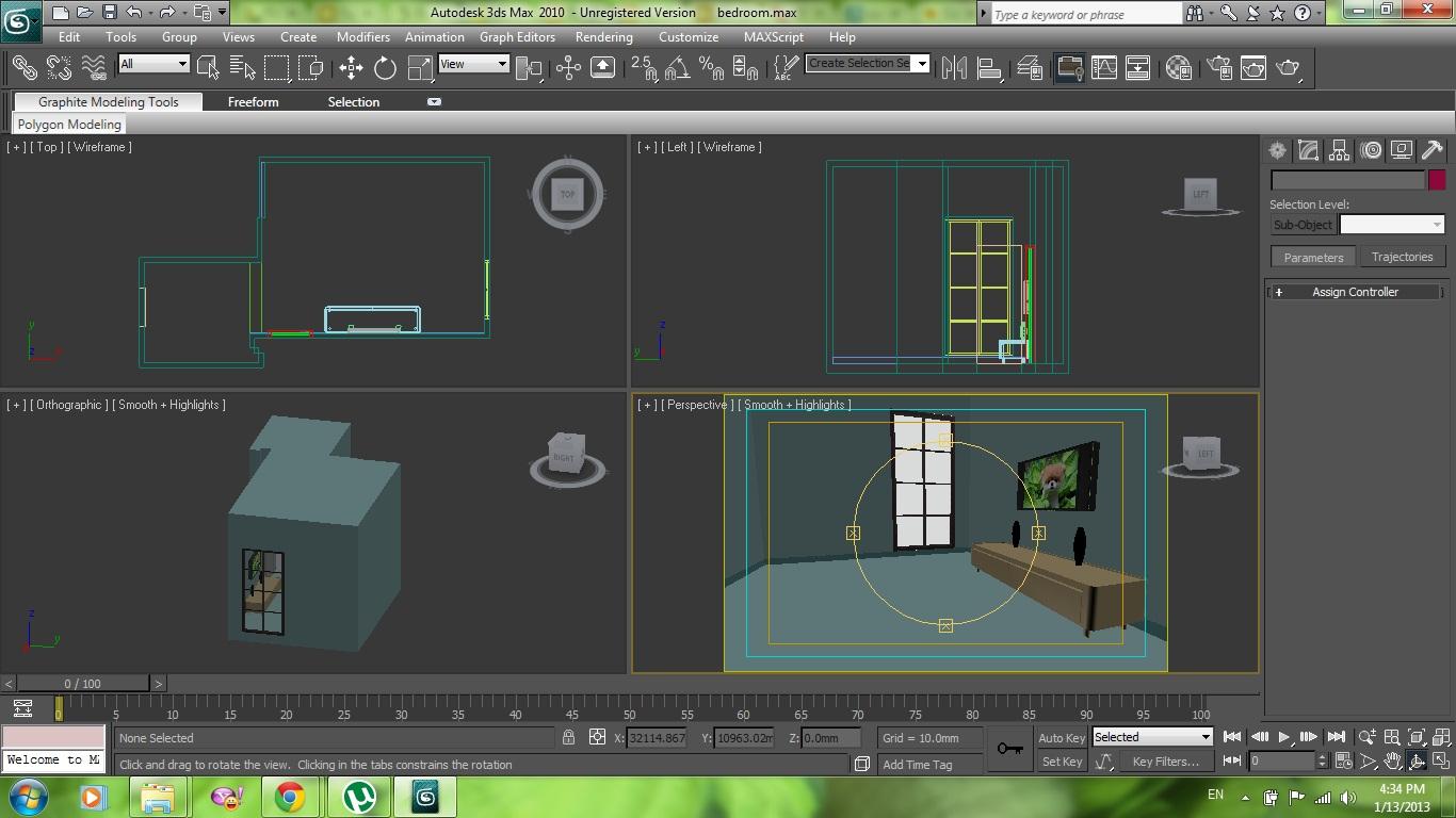 Mental Ray Interior Lighting Setting Tutorial   3ds Modeling