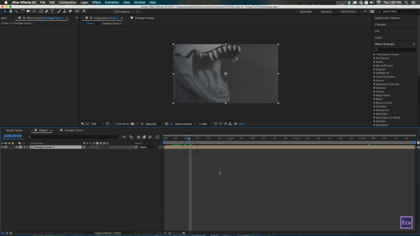 Drawing Lines With D : Drawing lines and points on a d footage in after effect