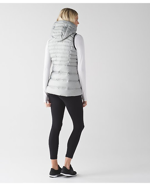 lululemon down-for-it-vest silver