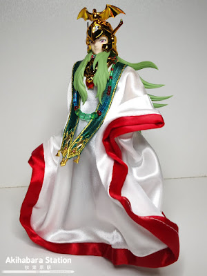 Saint Cloth Myth EX Aries Shion (Surplice) & Pope Set de Saint Seiya - Tamashii Nations
