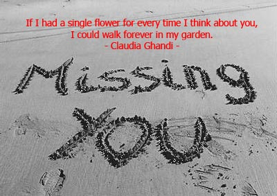 Fashion World Design Missing You Quotes