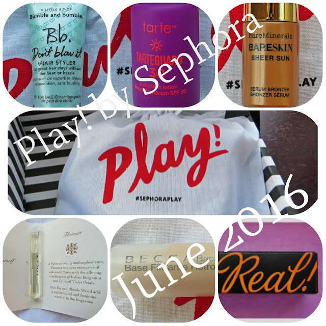 June 2016 Play! by Sephora Review
