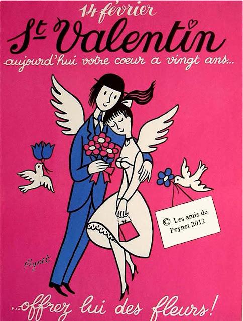 Association Les amis de Peynet: 14 février Saint Valentin