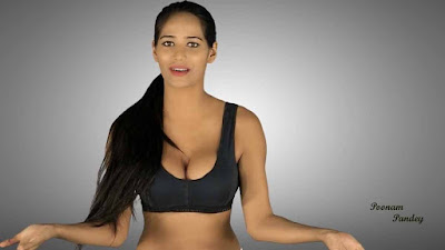 poonam pandey hot yoga