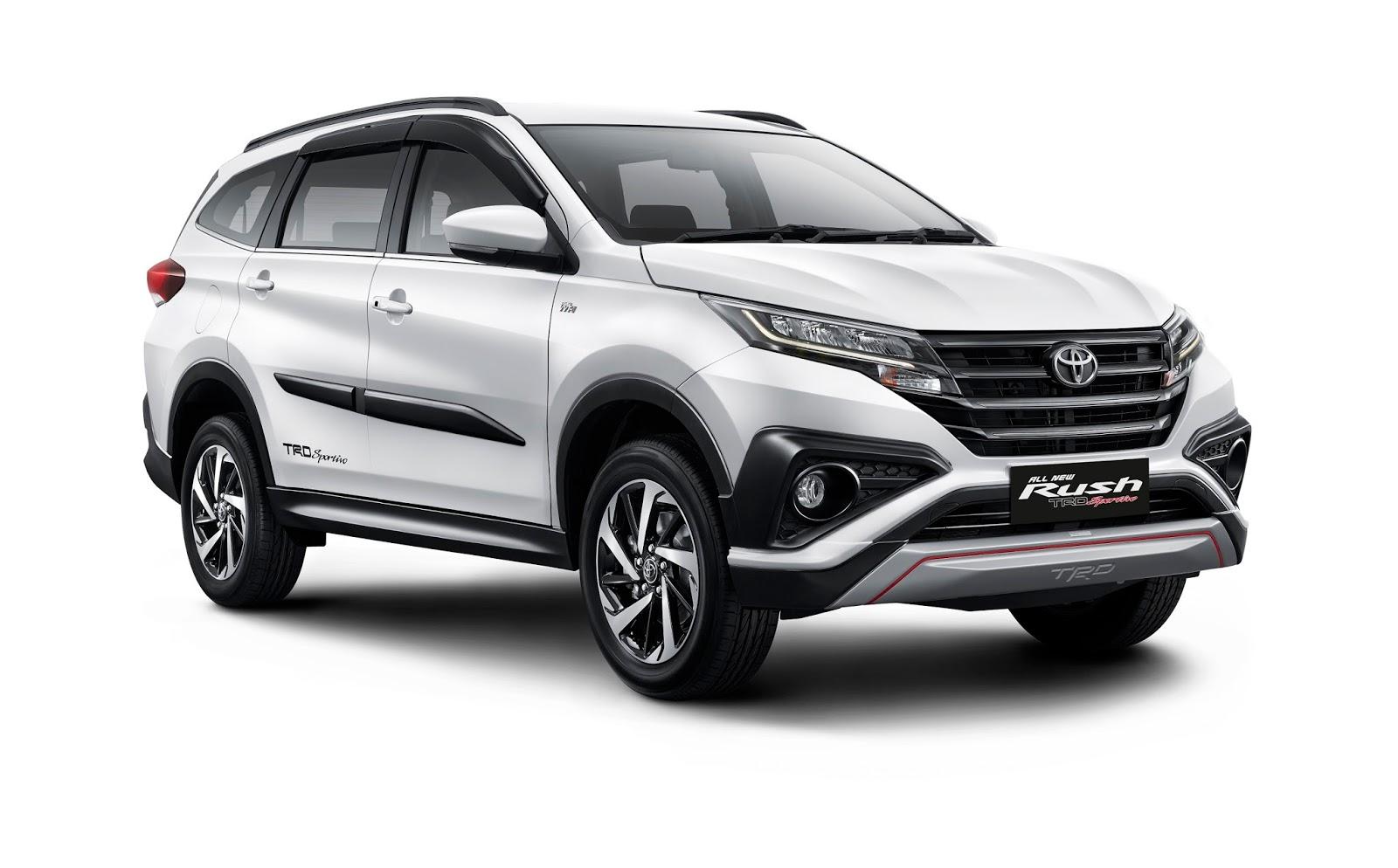 Harga All New Yaris Trd Sportivo 2018 Grand Avanza 1.3 Veloz A/t Toyota Rush Model Baru Tak Naik Tipe Tertinggi
