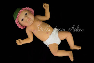 ooak anatomically correct mini baby girl doll