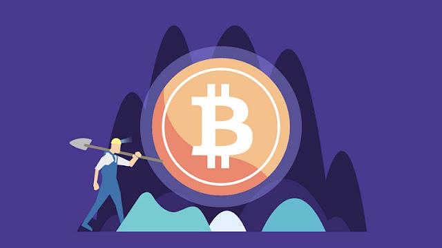 Ilustrasi tambang bitcoin