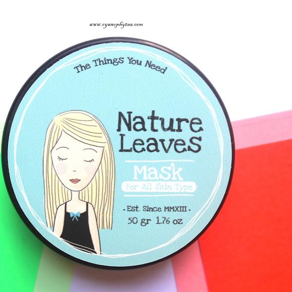 (Sponsored) Nature Leaves Mask For All Type Skin
