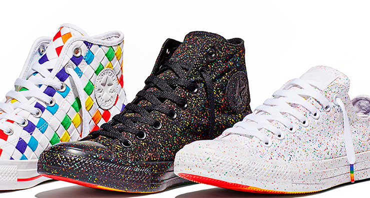d109d636b2cddd Be Proud! Wear the 2016 CONVERSE Pride Collection  ReadyForMore ...