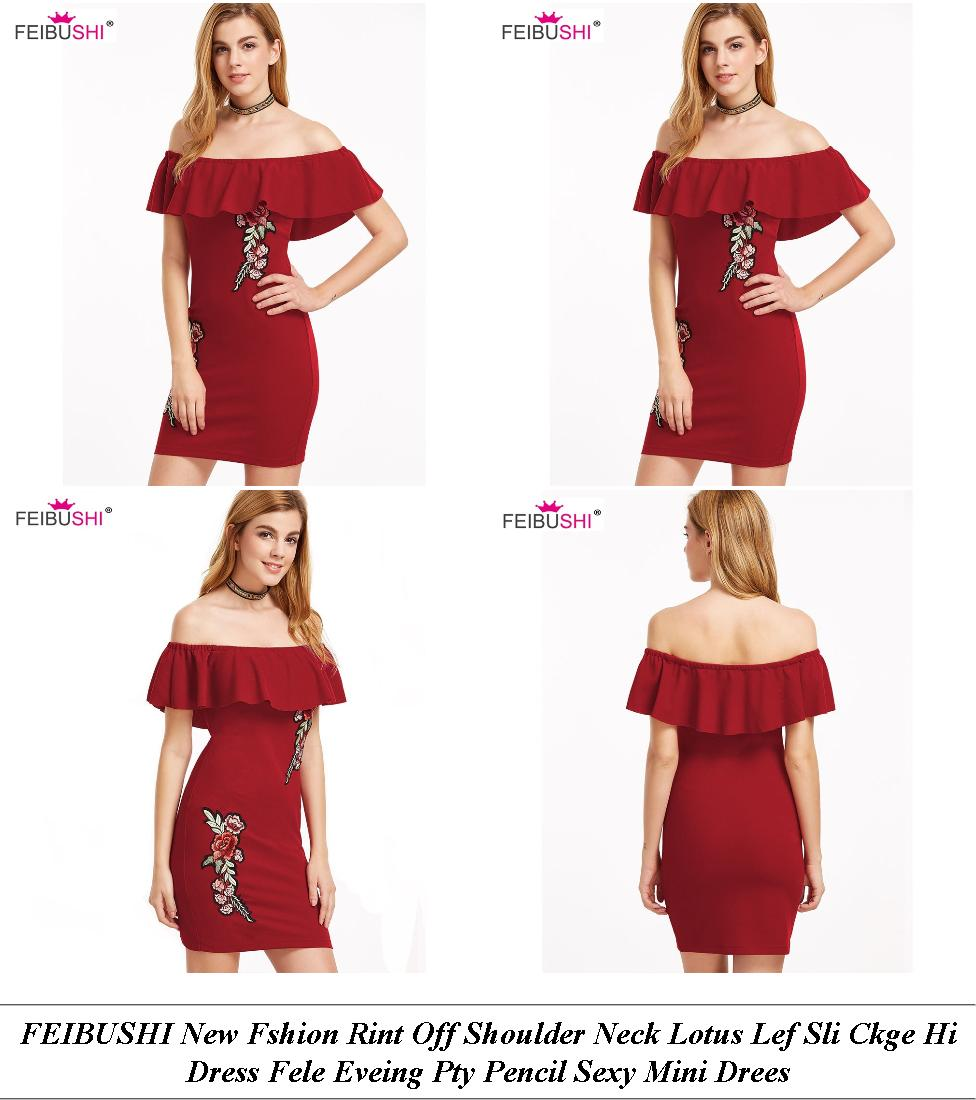 Occasion Dresses - Shop For Sale In London - Polka Dot Dress - Cheap Ladies Clothes