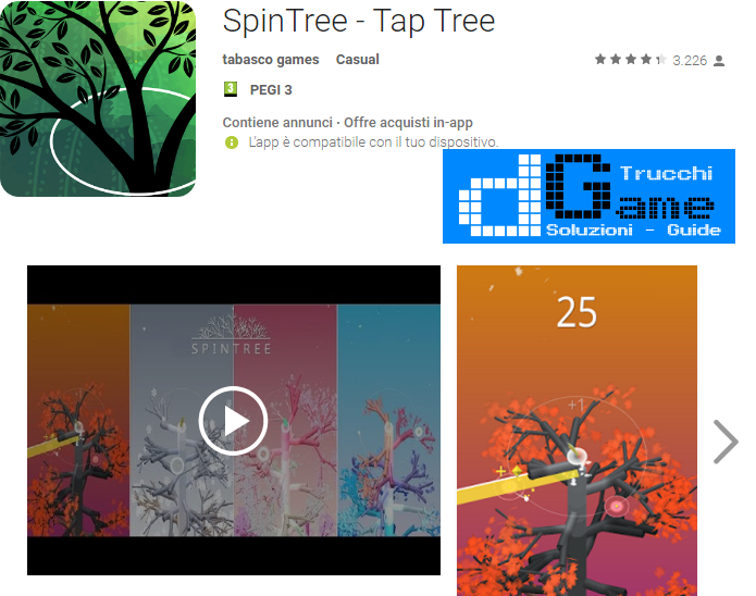 Trucchi SpinTree - Tap Tree Mod Apk Android v1.12