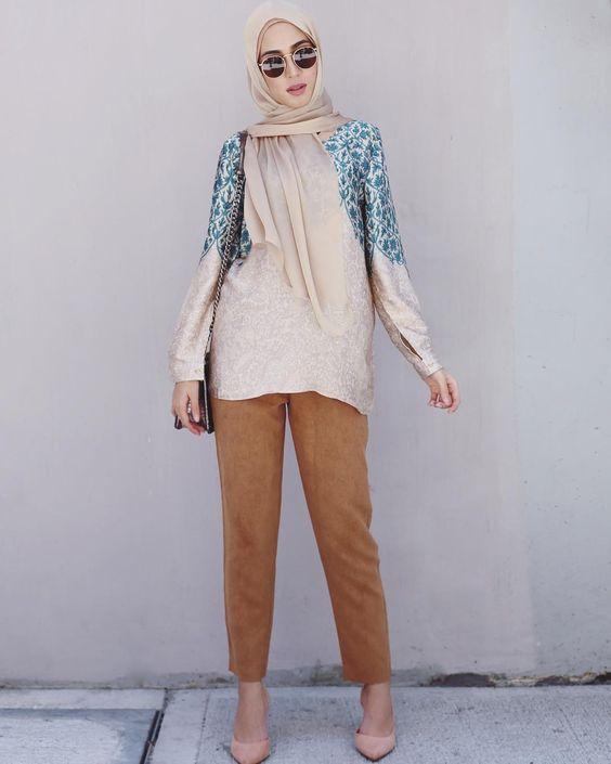 Hijab Fashion Casual Simple The Image Kid Has It