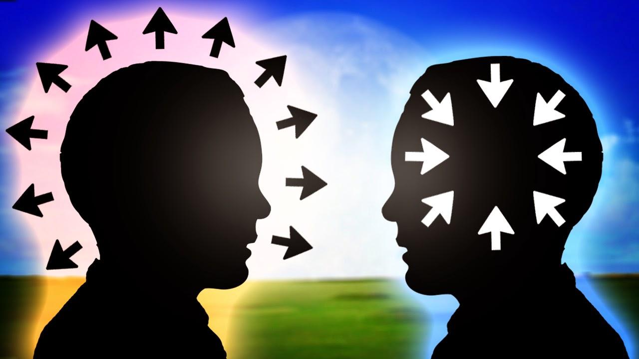 ekstrovert introvert