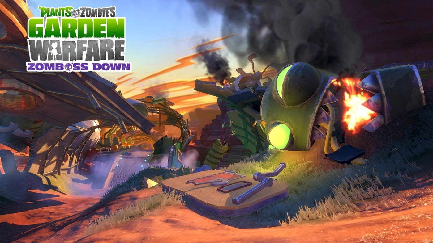 Plants Vs. Zombies: Garden Warfare - Zomboss Down