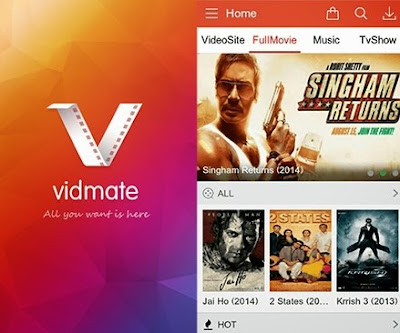 download Vidmate app for pc