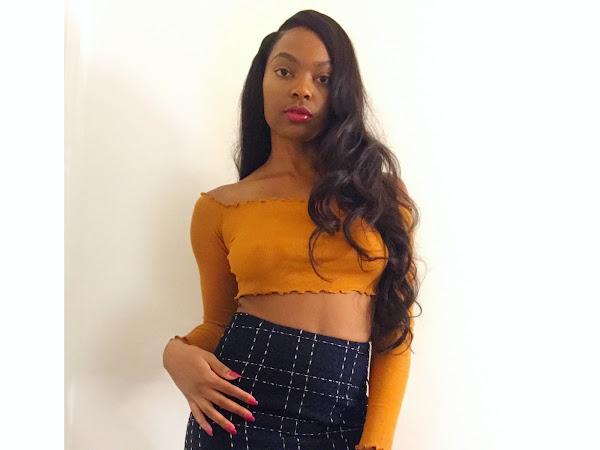 Tweed Mini Skirt + Crop Top