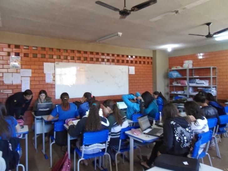 Aula de Matemática utilizando o software Microsoft Mathematics