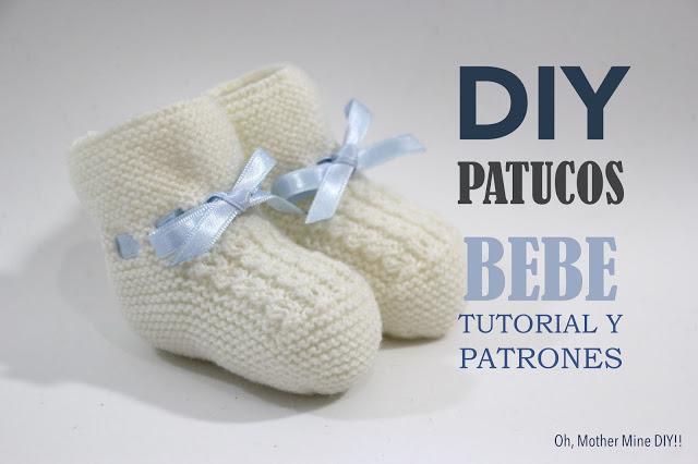 154e7d5e3a 6 PATRONES GRATIS DE PATUCOS DE BEBE DIY