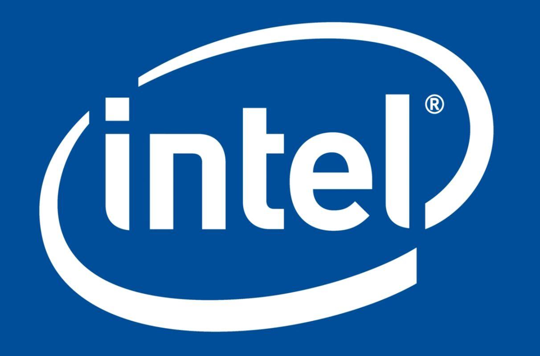 Wallpaper Blue White logo Intel Logo Intel images for desktop
