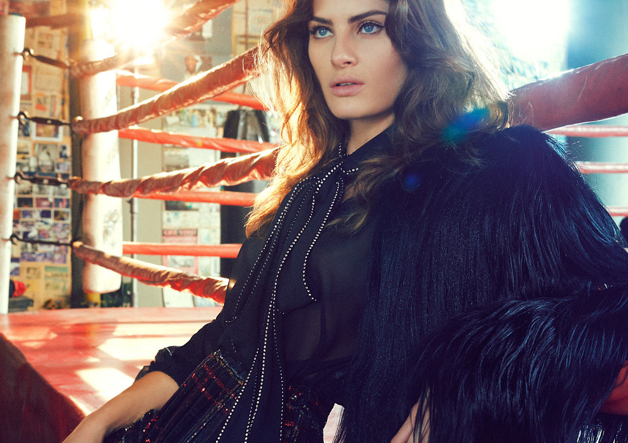 nova ordem: isabeli fontana by nicole heiniger for l'officiel brasil march 2015