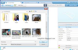 Cara Merubah Format Video,Dengan Avc