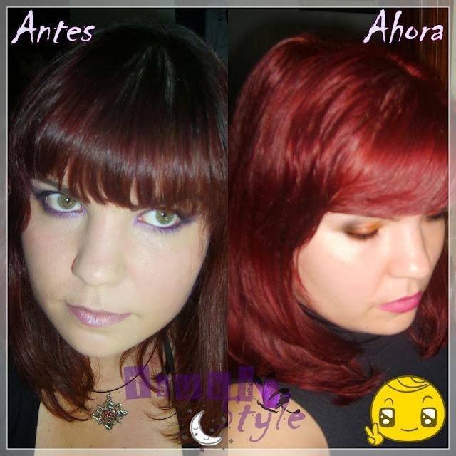 antes y después de majicontrast