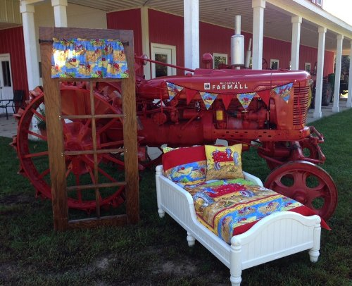 Tractor Theme Bedding For Kids From Baby 39 S Crib To Toddler On Up
