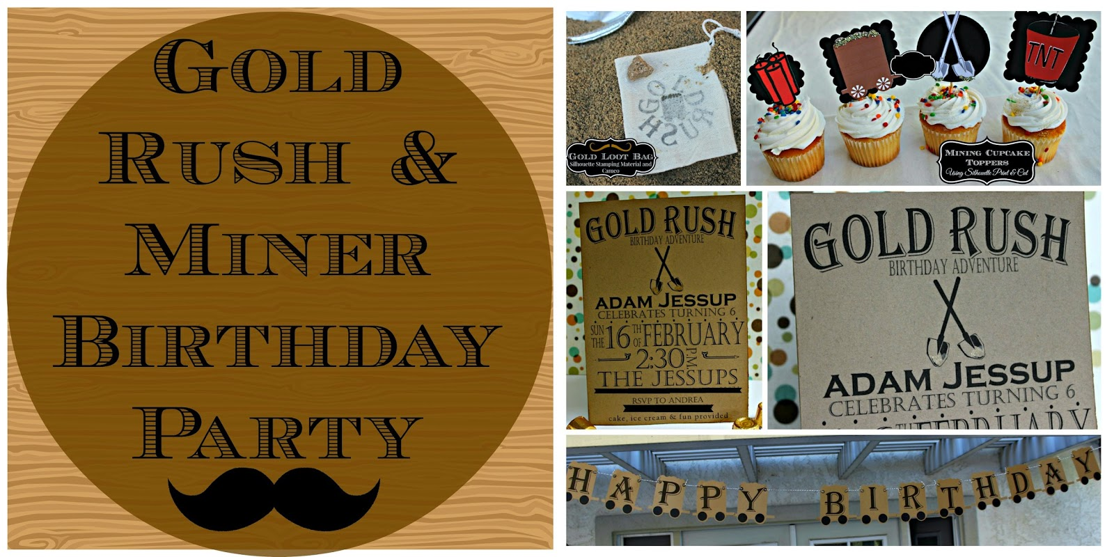 Hello Gold Rush Miner Party