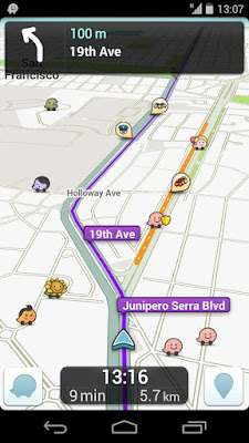 Download Aplikasi Waze V3.9.9.0 APK Terbaru Android 2016