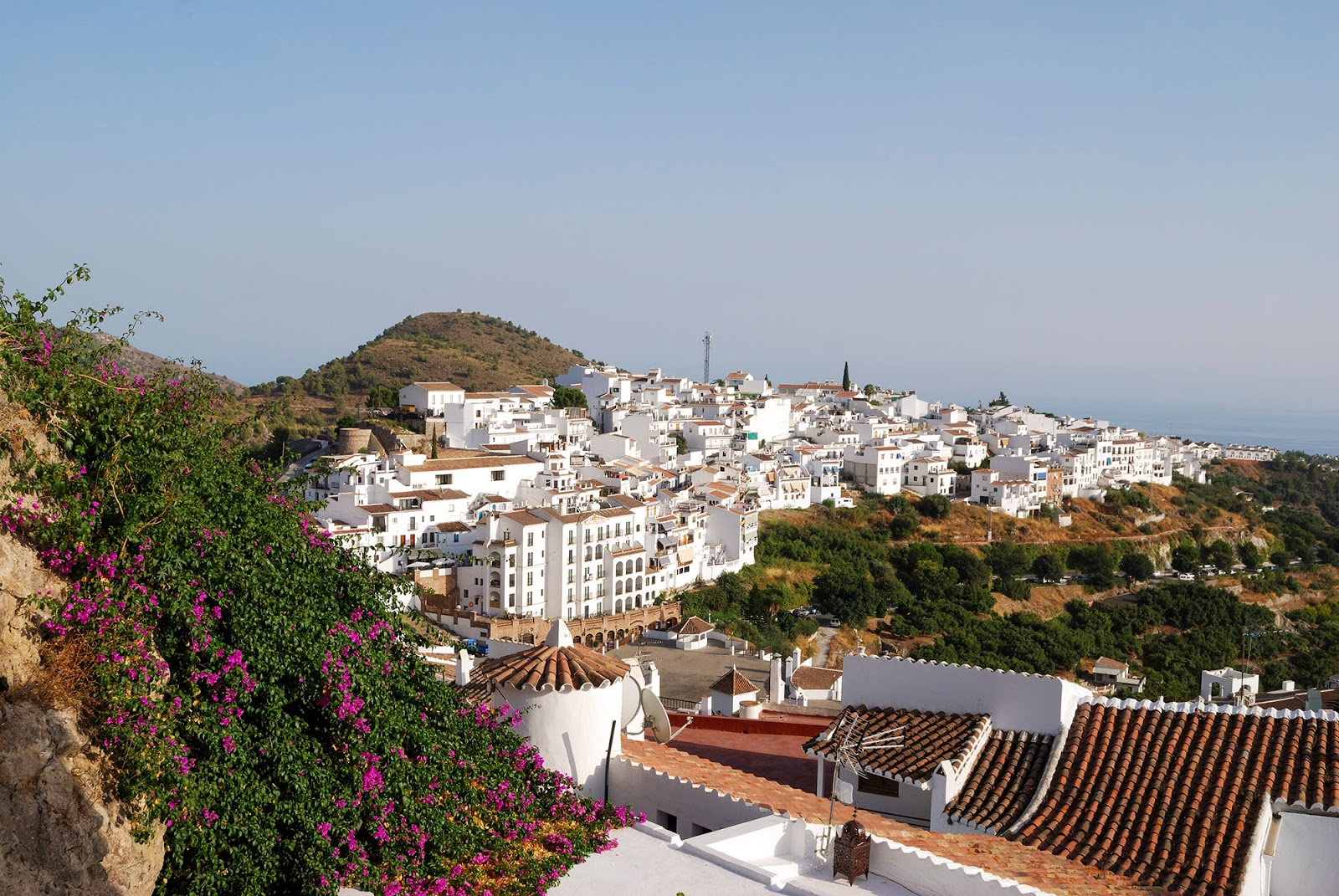 frigiliana pueblo bonito blanco malaga spain white village