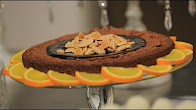 طريقة عمل براونيز باللوز والبرتقال بدون دقيق مع سالي فؤاد في حلو وحادق