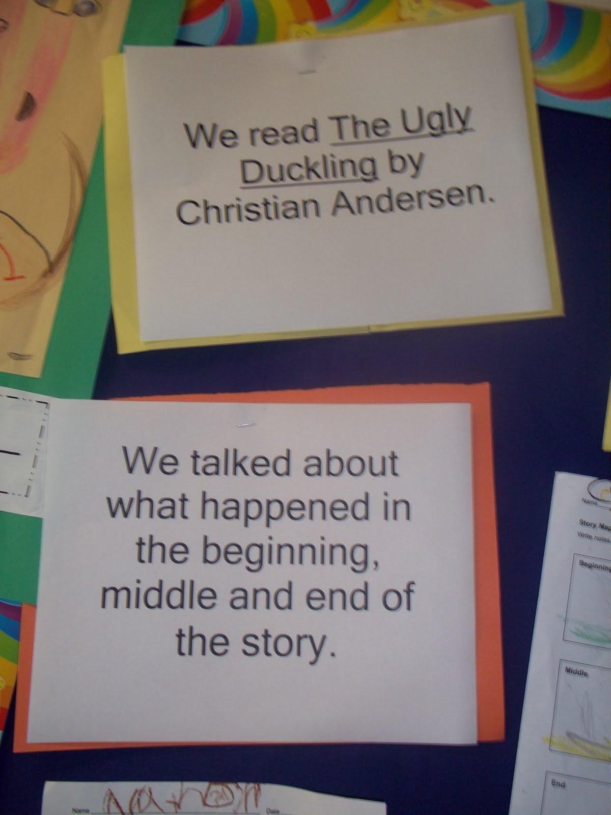 Kinder Garden: Mrs. Wood's Kindergarten Class: Ugly Duckling