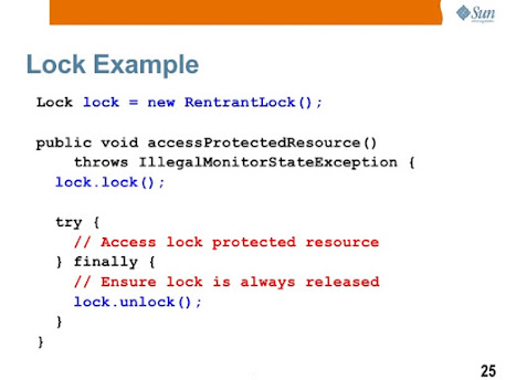 How to use Lock and Condition variables in Java