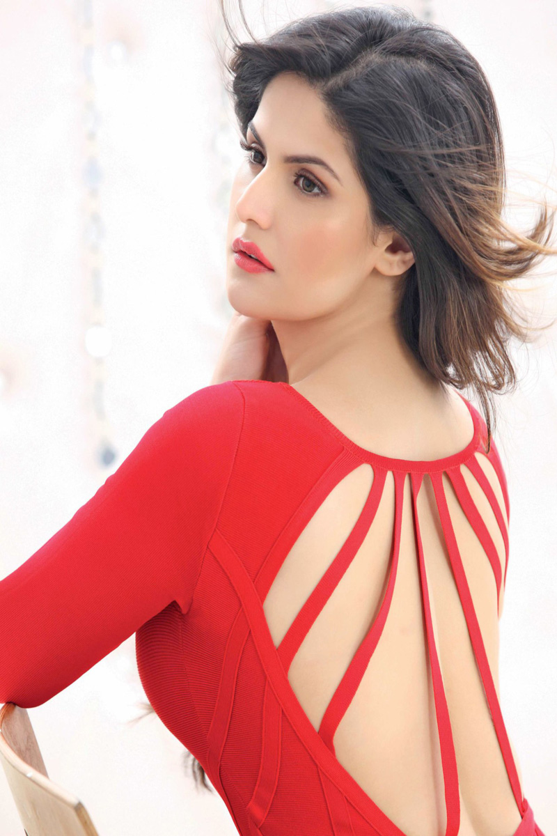 Zarine Khan Latest Photo shoot In Beautiful Red Dress