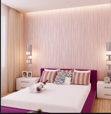 Inspirasi Motif Wallpaper Kamar Tidur Yang Bikin Tidur Anda  Lelap 2