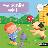 Mon jardin animé - Editions NATHAN
