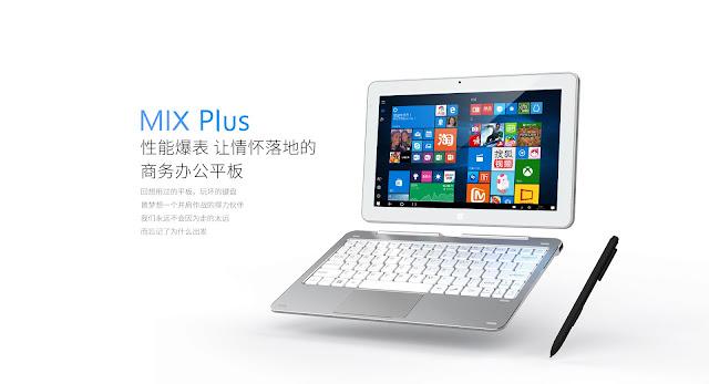 【Cube Mix Plus】ワコム製デジタイザー搭載!Core M3搭載のCubeの最新2-in-1、Cube Mix Plusが4.9万円で登場!