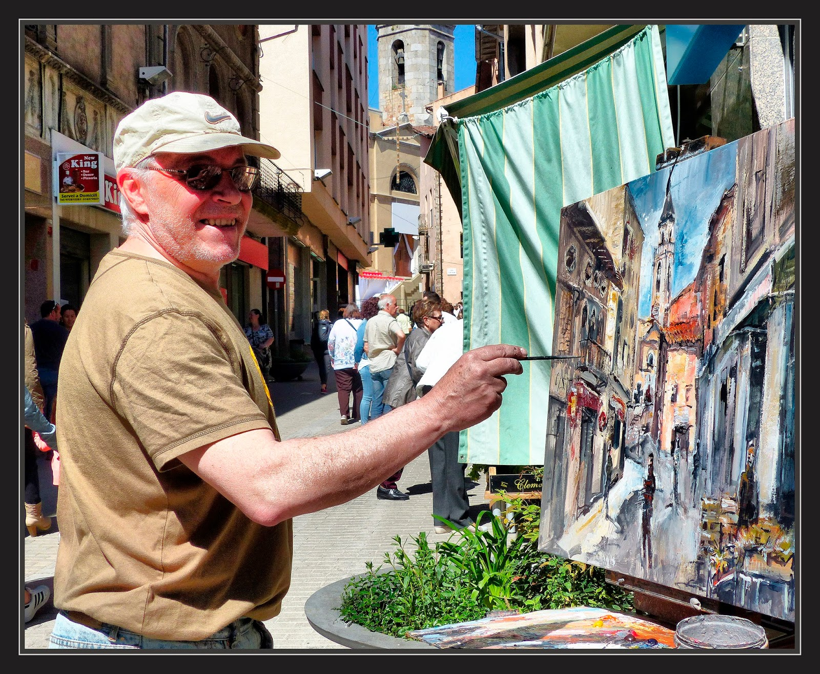 Ernest descals artista pintor sant hilari sacalm pintura - Pintores en girona ...