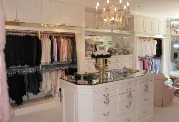 Walk in closets for Closet para recamaras modernas
